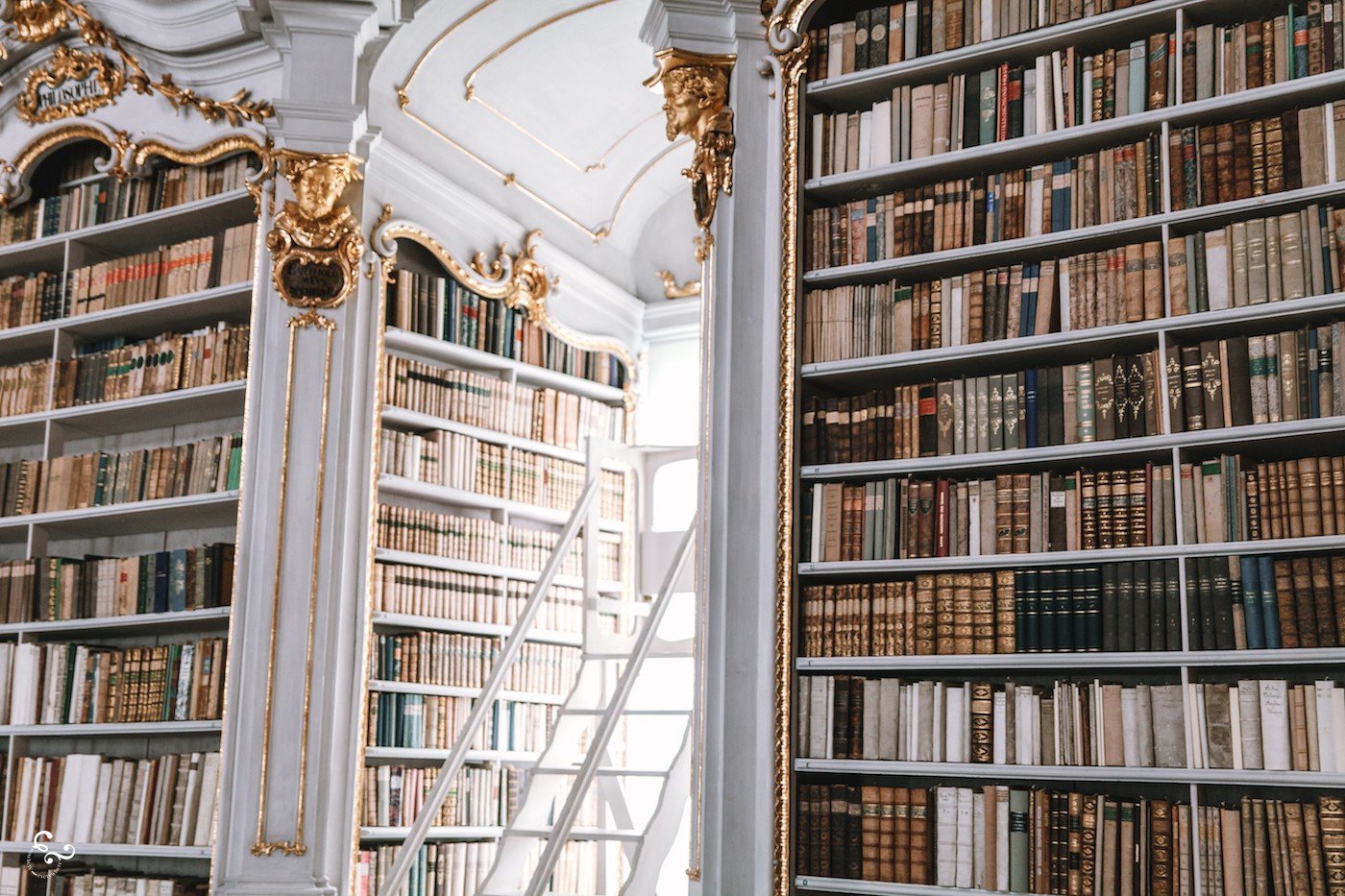 Austria Admont Abbey Library Travel Architecture History Lis Dingjan Nowhere & Everywhere Books Photography