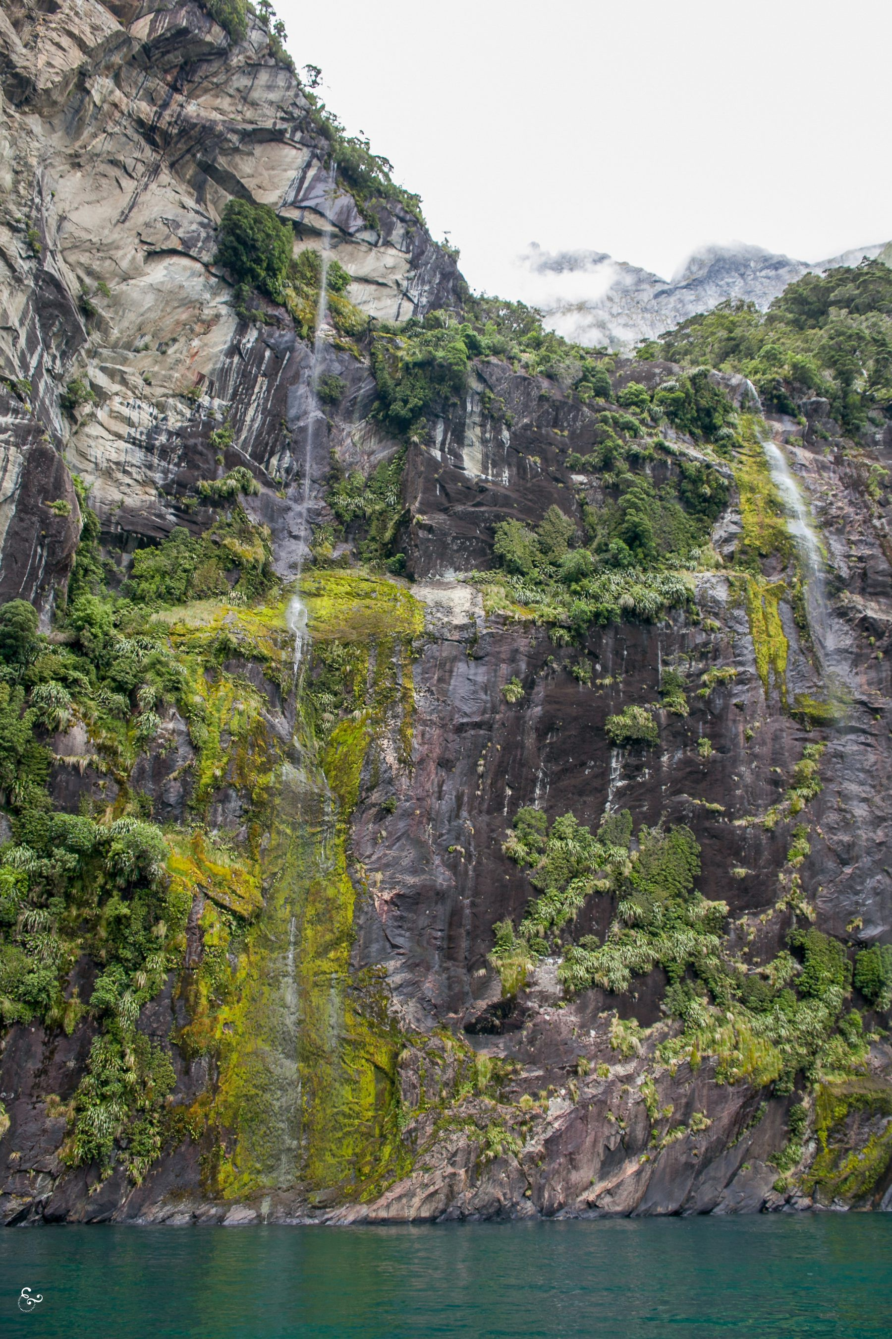 Milford Sound Waterfalls New Zealand Photography Lis Dingjan Nowhere & Everywhere Travel Sustainability Free Range Pixels Blog