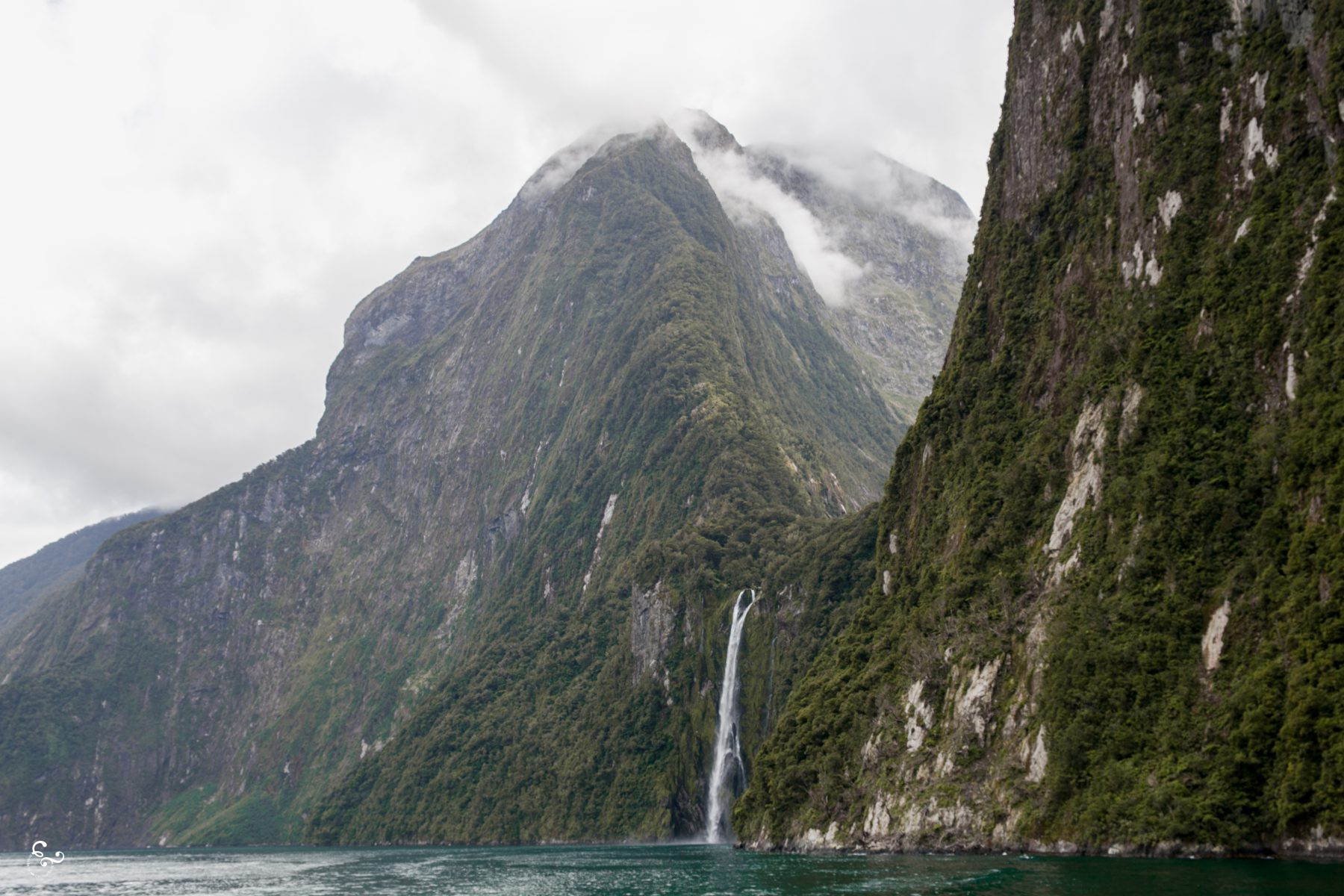Milford Sound Waterfalls New Zealand Photography Lis Dingjan Nowhere & Everywhere Travel Sustainability Free Range Pixels Blog