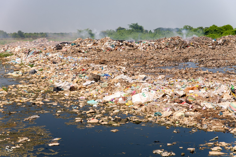 Cambodia Ek Phnom Landfill Dumb Battambang Siem Reap Phnom Penh Plastic Rubbish Waste