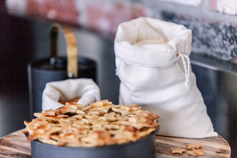 Nowhere & Everywhere Zero Waste Kits 100% Hemp Produce Bag Kitchen Plastic Free Products