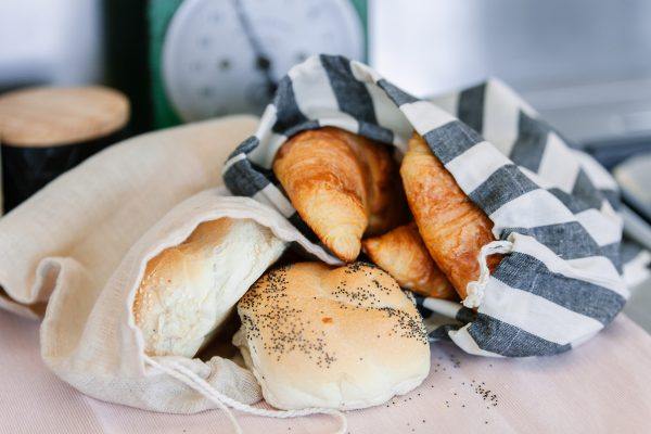 Nowhere & Everywhere Zero Waste Kits 100% Hemp Produce Bag Large Bread Bag Kitchen Plastic Free Products