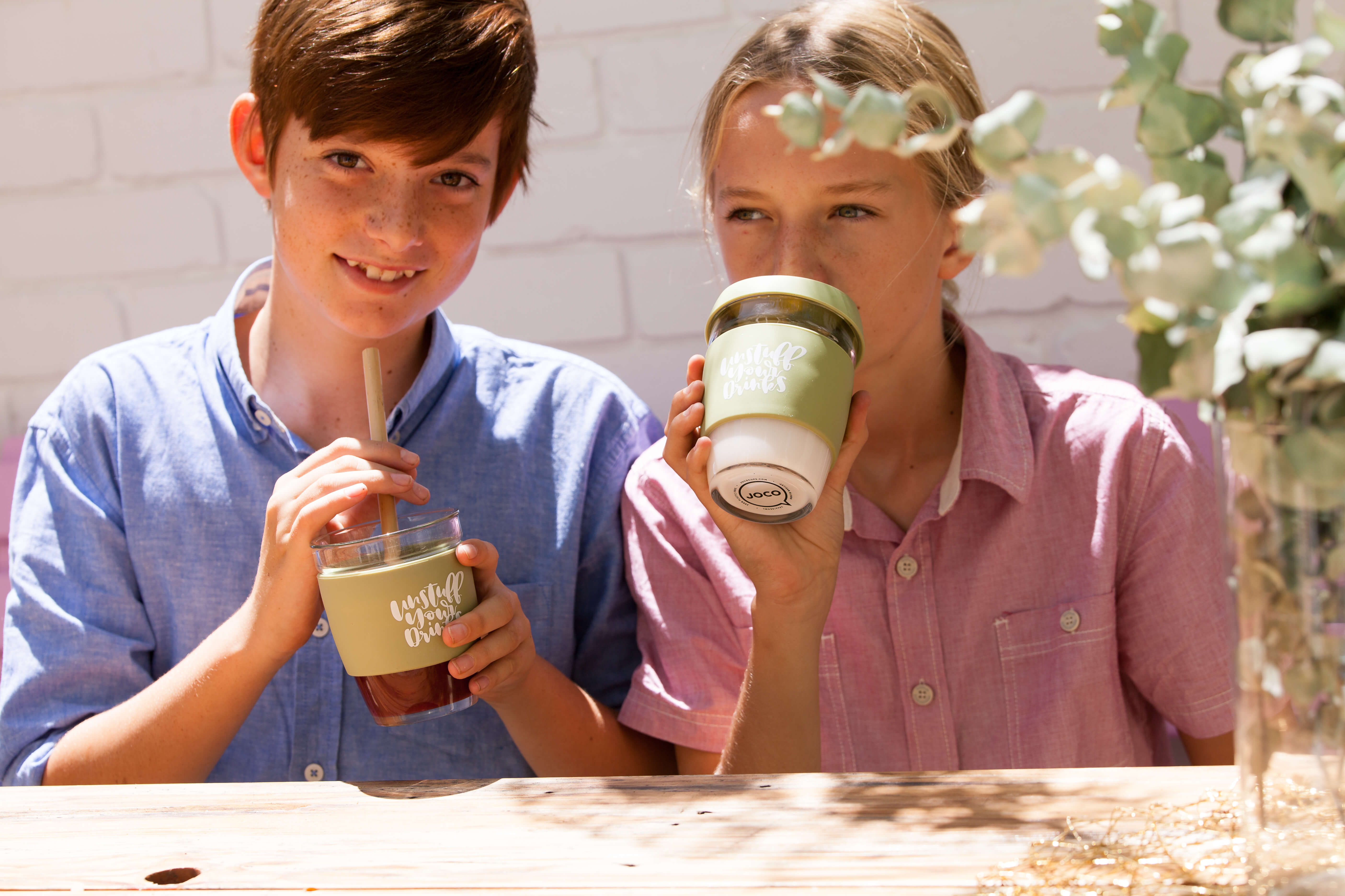 Joco Glass Zero Waste Custom Cup Keepcup Tea Coffee Reusable Cup Nowhere & Everywhere Zero Waste Kits Australia New Zealand UK America United States Ireland Europe