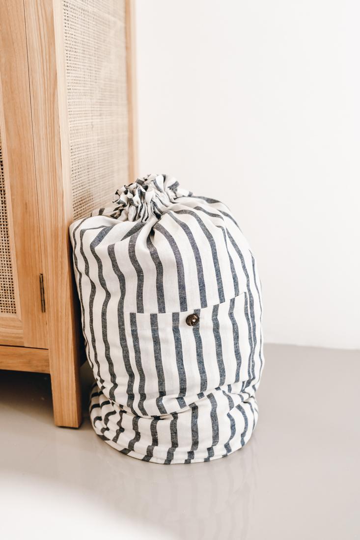 Zero Waste Linen Laundry Travel Wash Bag Clothes Washing - Nowhere & Everywhere - Australia America USA New Zealand Canada UK