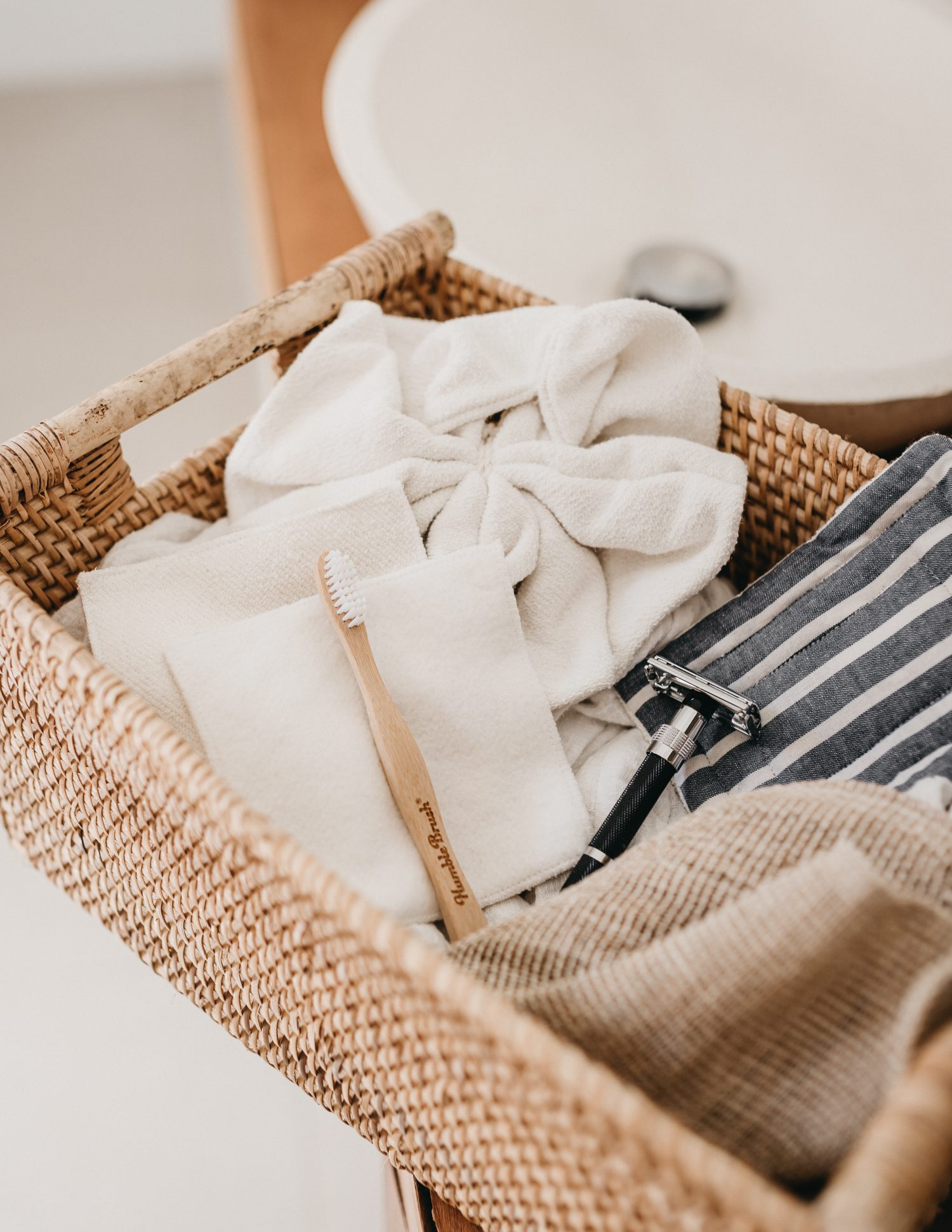 Zero Waste Green Eco Environmentally Friendly Gifts Kits Hampers - Nowhere & Everywhere Sustainable Plastic Free Zero Waste Gift Guide - Bathroom