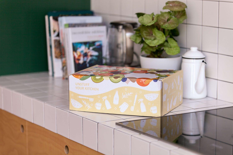 Unstuff your Kitchen Zero Waste Plastic Free Ethical Labor Sustainable Kit Starter Nowhere & Everywhere Australia NZ Europe UK Netherlands USA Canada
