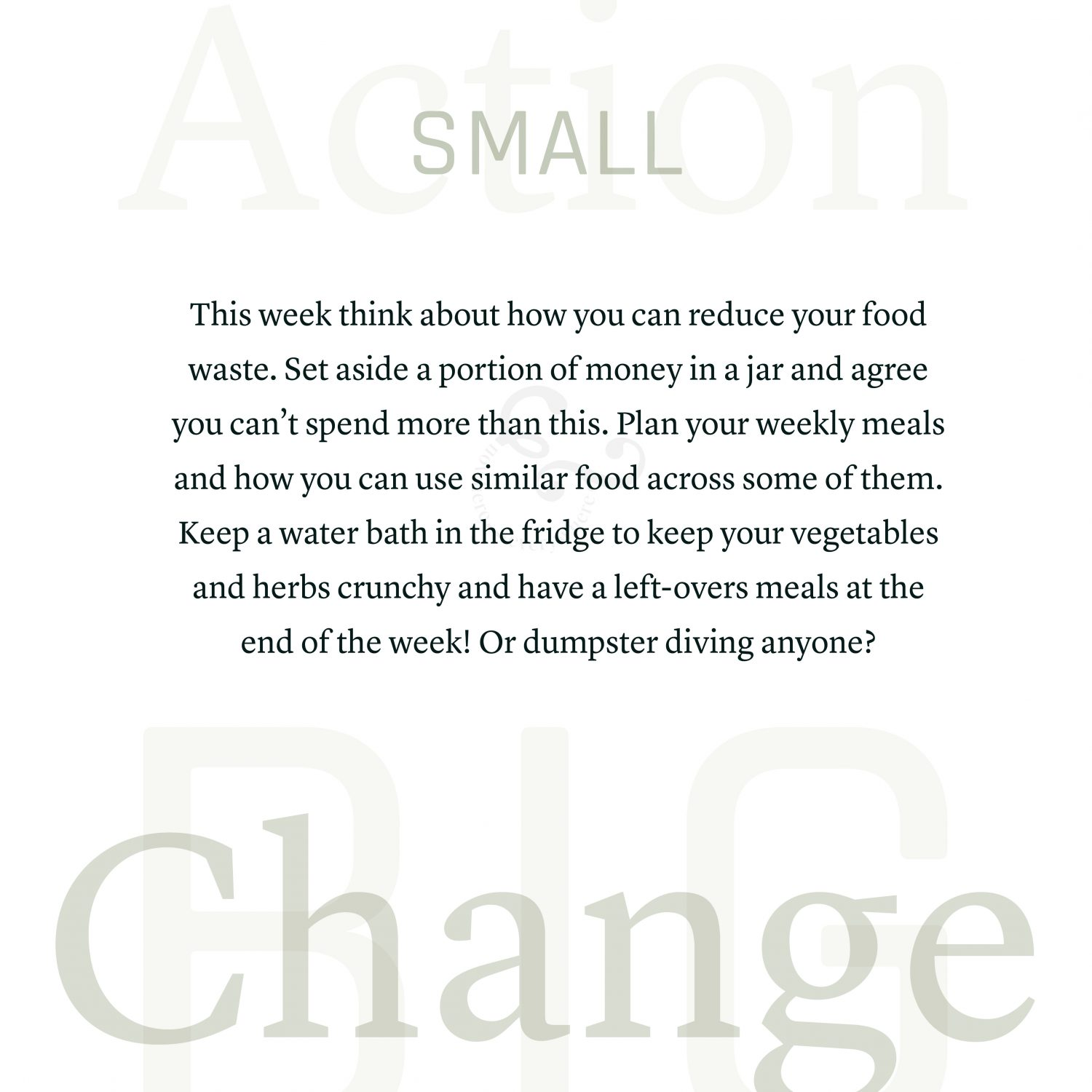 Take Action Environmental Activism Small Steps Vegan Climate Change Food Banks Growing Worm Garden Nowhere & Everywhere