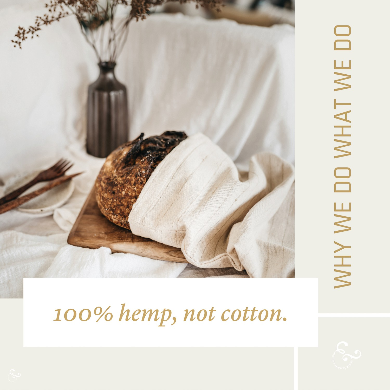 100% Hemp - Why Hemp is the best fabric and not cotton Nowhere & Everywhere Ethical Sustainable Goods Products Australia UK USA New Zealand Canada The Netherlands Lisande Lis Dingjan