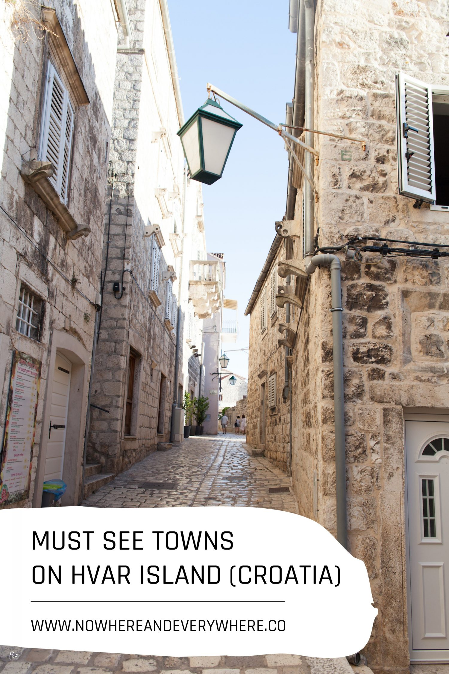 The buzzing town on the Island of Hvar Nowhere & Everywhere Sustainable Travel
