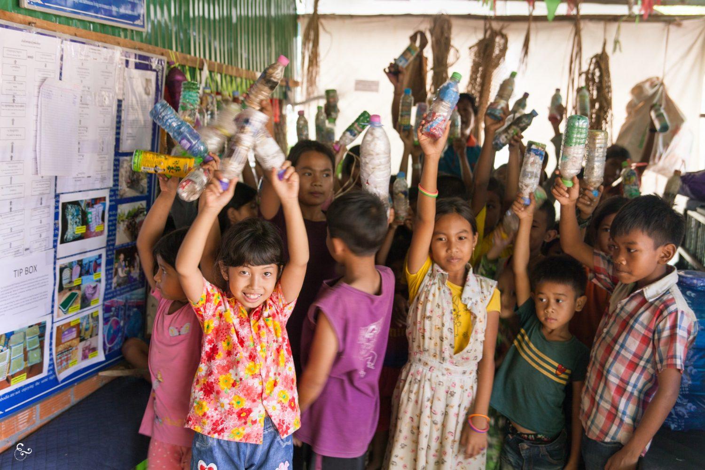 Eco Bricks Plastic Bricks Nowhere & Everywhere Kids How to Eco Brick Cambodia