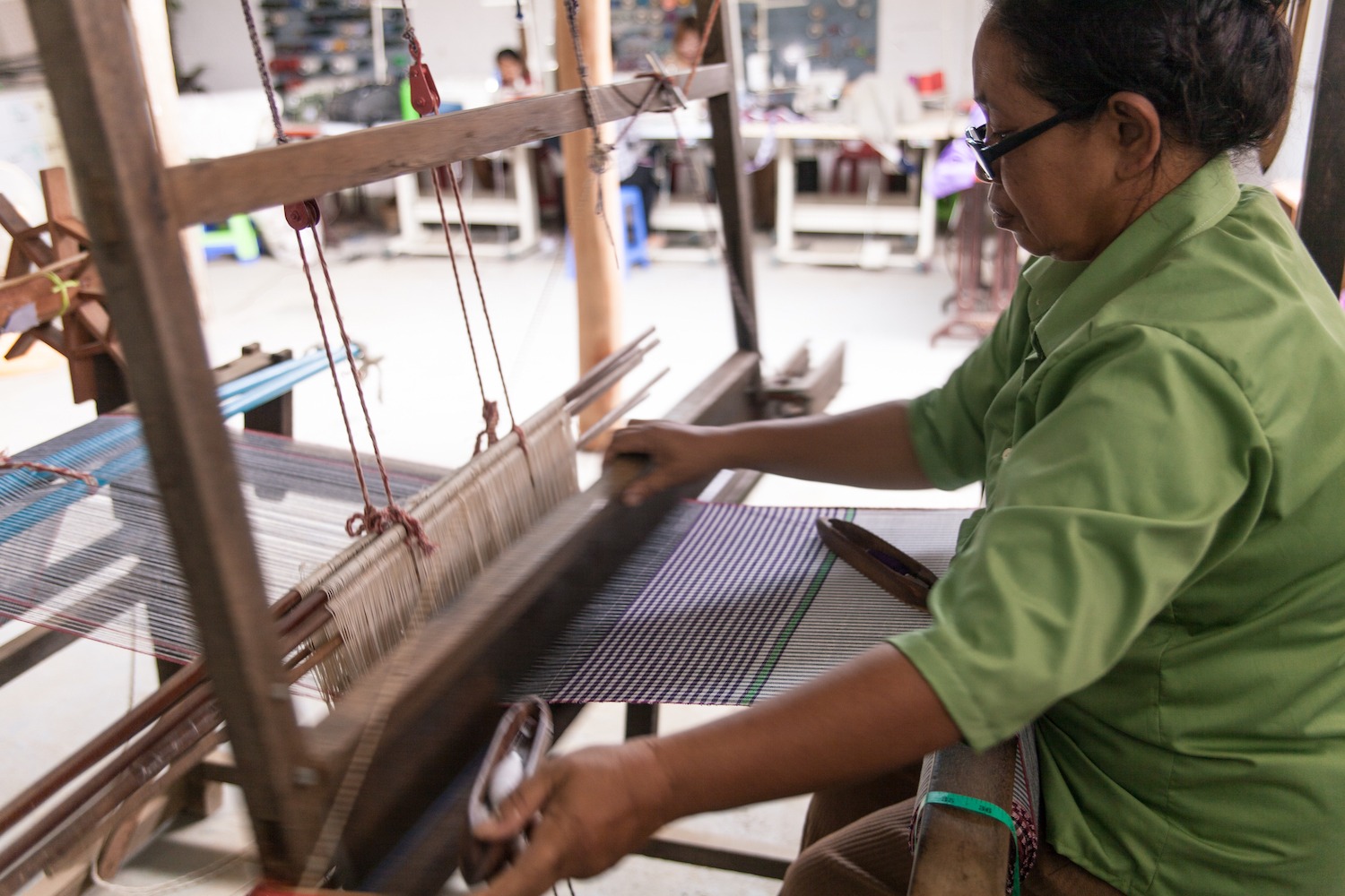 Weaving Sewing String Bags Nowhere & Everywhere 100% Hemp Ethical Labor Sustainable