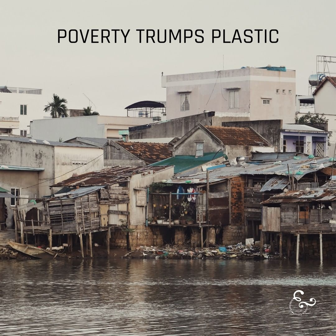 Poverty trumps plastic - Nowhere & Everywhere Environmentalism Plastic Free July #plasticfreejuly Cambodia