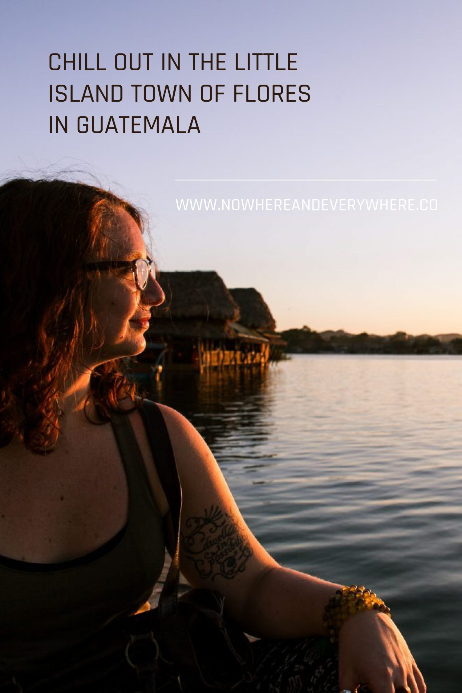 The little island of Flores in Guatemala Nowhere & Everywhere Sustainable Travel