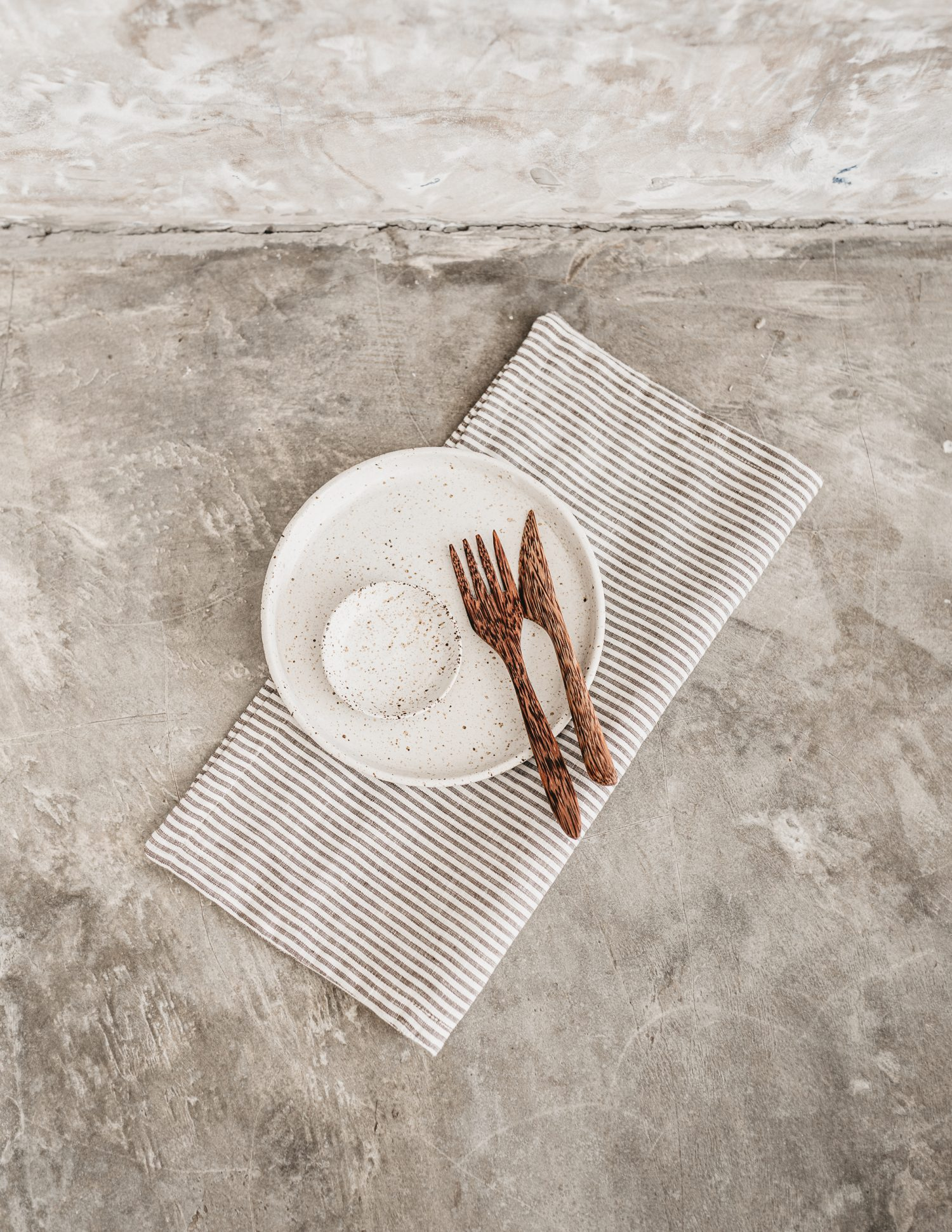 Nowhere & Everywhere Recovered Recycled Linens Redirected from Landfill Table Styling Setting Zero Waste Shop Ethically Made Sustainable