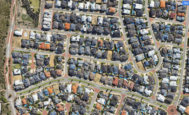 Illuka - Perth Urban Suburban Suburbia Sprawl - Longest World - Australia Housing Design Crisis - Nowhere & Everywhere