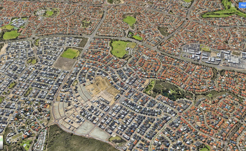 Perth Urban Suburban Suburbia Sprawl - Longest World - Australia Housing Design Crisis - Nowhere & Everywhere - Tract Housing