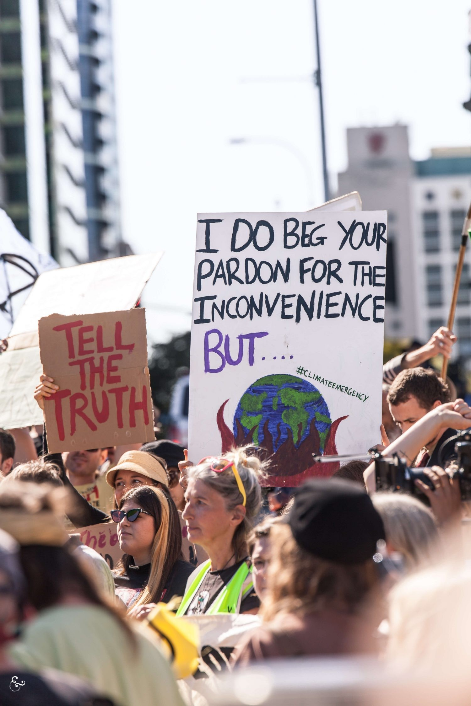 Extinction Rebellion Protest Brisbane Australia UK Photos - Nowhere & Everywhere - Climate Change Crisis Biodiversity