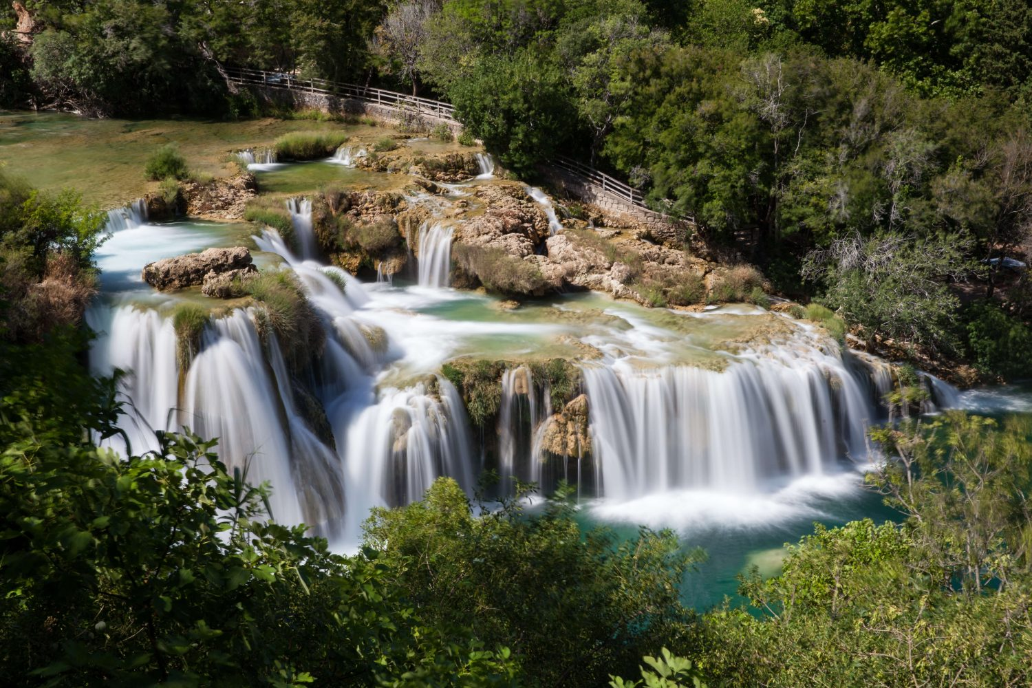 Waterfalls Krka National Park - Skradinski Buk Visovac Island Roški Slap - Nowhere & Everywhere - Sustainable Eco Green Slow Travel Europe Roadtrip