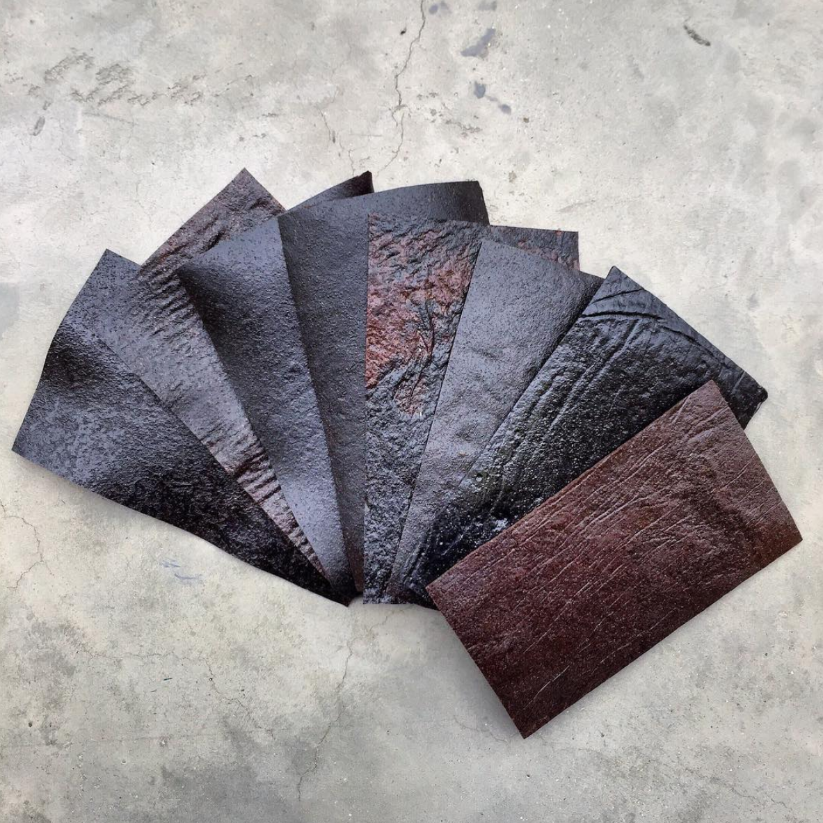 Sustainable Vegan Plant Based Faux Leathers - Nowhere & Everywhere - Alternative Leather Guide - Coffee Leather