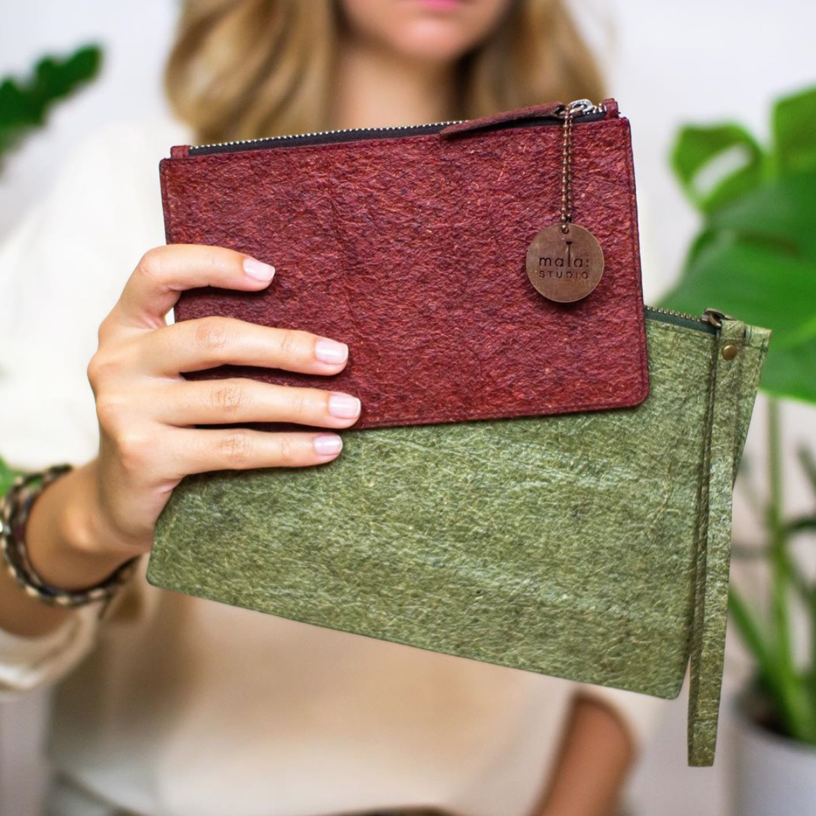 Circular Economy Sustainable Vegan Plant Based Faux Leathers - Nowhere & Everywhere - Alternative Leather Guide - Coconut Leather
