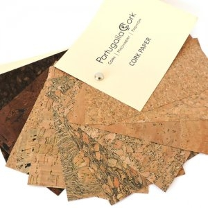 Cork Leather - Sustainable Vegan Plant Based Faux Leathers - Nowhere & Everywhere - Alternative Leather Guide